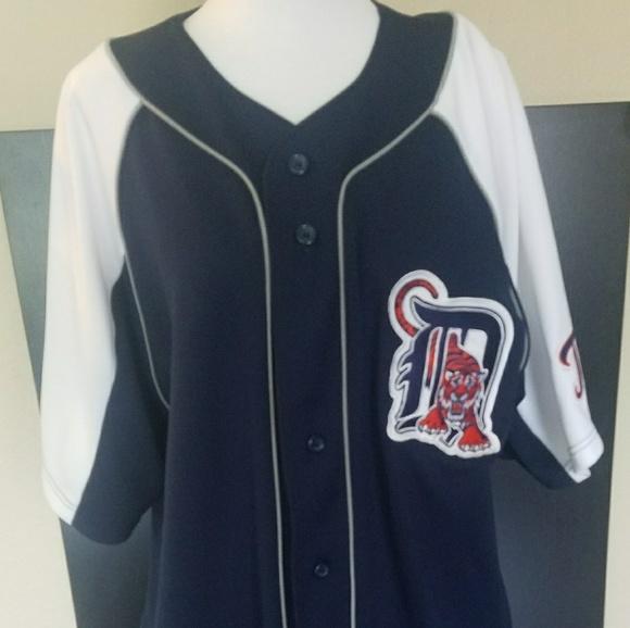 brand new e354f 0885a Detroit Tigers- Cabrera Throwback MLB Jersey- L